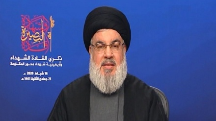 Nasrallah: Trump's 'deal of century' meant to liquidate Palestinian cause